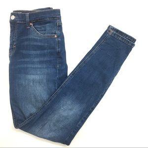 Topshop MOTO 30 Jamie High Rise Skinny Jeans